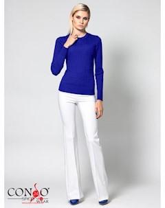 Джемпер цвет ярко синий Conso