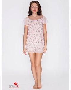 Пижама цвет розовый Vis-a-vis
