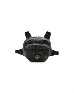 Текстильная поясная сумка Stone island