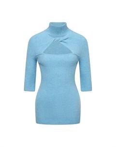 Шерстяной пуловер Ganni