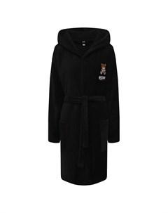 Хлопковый халат Moschino underwear woman