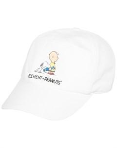 Кепка Peanuts Preem Cap Off White 2021 Element