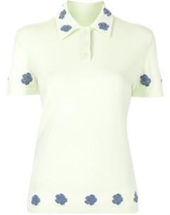 Рубашка поло с цветочной вышивкой Barrie
