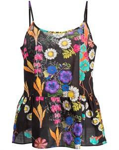 Комплект из домашнего топа и шортов с цветочным принтом Cynthia rowley