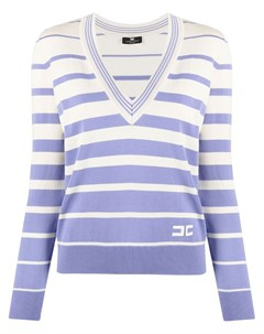Пуловер в полоску Elisabetta franchi