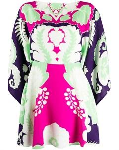 Платье мини с принтом World Arazzo Valentino