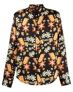 Рубашка с цветочным принтом и длинными рукавами Garcons  infideles