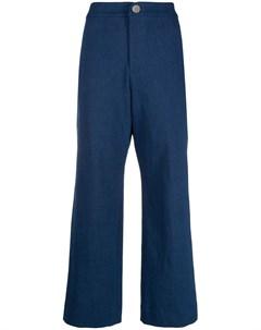 Укороченные расклешенные брюки Roseanna