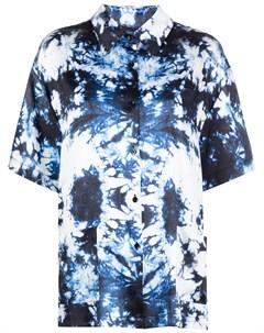 Рубашка с короткими рукавами и принтом тай дай Cynthia rowley