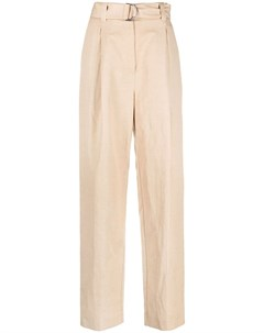 Прямые брюки с поясом Msgm