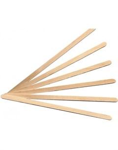 Размешиватель одноразовый деревянный 18 см 1000 шт Комус