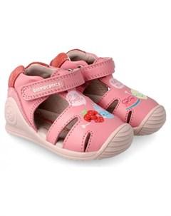 Туфли открытые для девочки 212108 A Biomecanics
