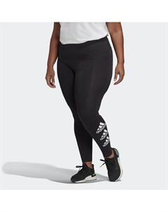 Леггинсы Stacked Logo Plus Size Sport Inspired Adidas
