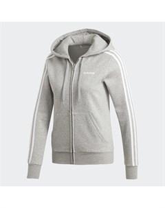Флисовая худи Essentials 3 Stripes Sport Inspired Adidas
