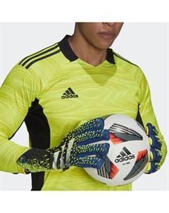 Вратарские перчатки Predator Pro Fingersave Performance Adidas