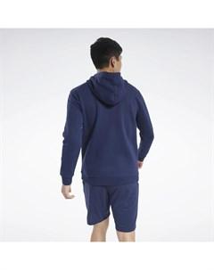 Худи Training Essentials Fleece Zip Up Reebok