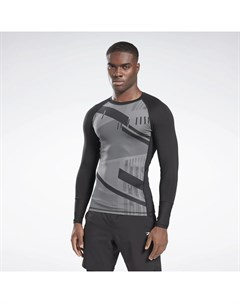 Лонгслив Printed Compression Reebok
