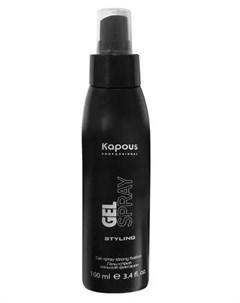 Гель спрей для волос сильной фиксации 100 мл Средства для укладки Kapous professional