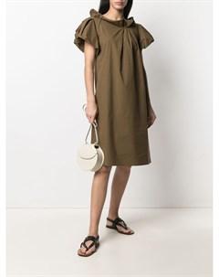 Платье асимметричного кроя Odeeh