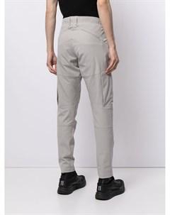 Зауженные брюки со вставками Attachment