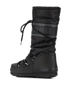 Дутые сапоги на шнуровке Moon boot