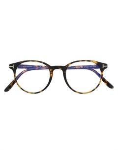 Очки FT5695 B в оправе панто Tom ford eyewear