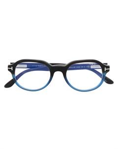 Очки FT5697 B в круглой оправе Tom ford eyewear