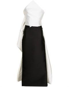 Вечернее платье асимметричного кроя Isabel sanchis