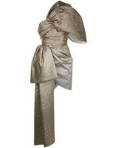 Платье мини со съемной деталью Isabel sanchis