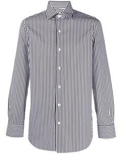 Полосатая рубашка с длинными рукавами Finamore 1925 napoli