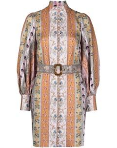 Платье Luminous с узором Zimmermann