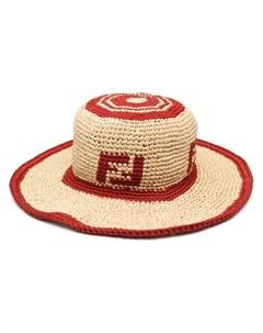 Шляпа с логотипом FF Fendi