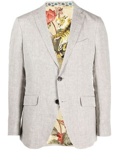 Однобортный пиджак Etro