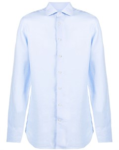 Рубашка со срезанным воротником Etro