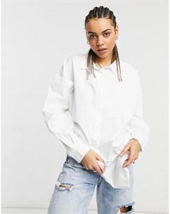 Oversized рубашка из поплина Native youth