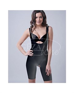 Корректирующее утягивающее белье slim n shape bodysuit комбидрес черный gezatone Gezatone