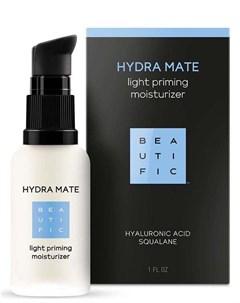 Флюид для лица легкий увлажняющий с гиалуроновой кислотой и скваланом hydra mate beautific Beautific
