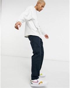 Темно синие брюки в стиле 80 х Stan ray®