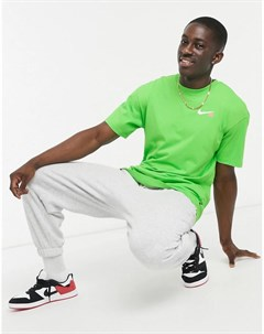 Зеленая футболка с принтом дракона Nike sb