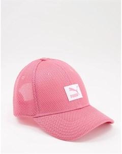 Розовая сетчатая кепка Puma
