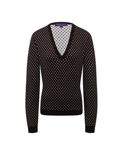 Шелковый пуловер Ralph lauren