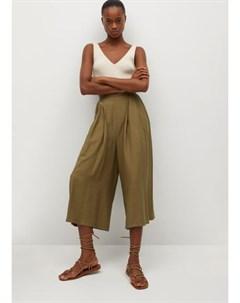 Струящиеся брюки кюлоты Vera Mango
