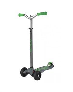 Самокат Maxi Deluxe Pro серо зеленый Micro