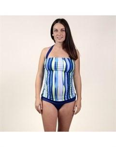 Купальник танкини Oh Ma для беременных синий Mothercare