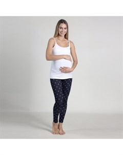 Легинсы в горошек для беременных Oh Ma синий Mothercare
