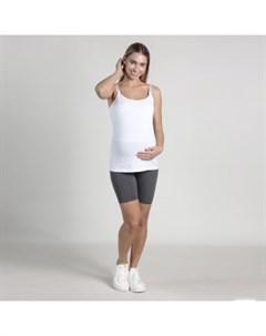Легинсы короткие для беременных Oh Ma темно серый Mothercare