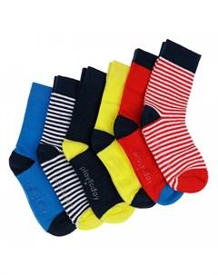 Носки трикотажные для мальчика 6 пар 12112006 Playtoday