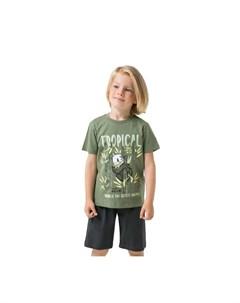 Комплект для мальчика футболка шорты К2756 Crockid