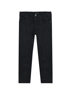 Черные джинсовые брюки детские Emporio armani