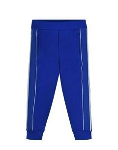 Ярко синие спортивные брюки с лампасами детское Emporio armani